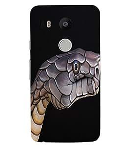 ColourCraft Creative Image Design Back Case Cover for LG GOOGLE NEXUS 5X