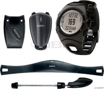Cheap Suunto T6c Triathlon Pack (T6c Heart Rate Monitor, Foot POD, Road Bike POD, Cadence POD, and Memory Belt) (HR3608001)