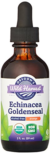 Oregon's Wild Harvest Echinacea Goldenseal Orange Organic Extract, 2 Fluid Ounce (Echinacea Goldenseal Organic compare prices)