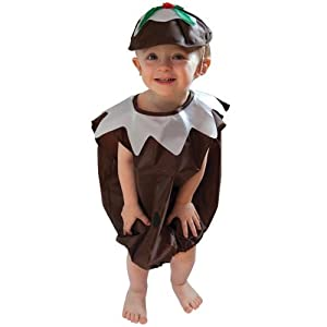 Adorable Christmas Pudding Fancy Dress Party