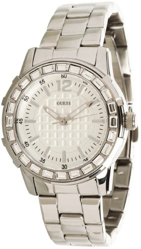 Guess Women's U0018L1 Dazzling Sport Petite Stainless Steel Watch