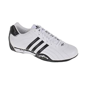 G16080|ADIDAS ADI RACER LOW GOODYEAR WHITE|40 UK 6,5