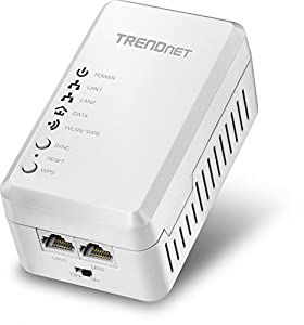 TRENDnet Powerline 500 AV Access Point WiFi Everywhere Wireless N300 Access Point, 500 AV Powerline and Wireless N 300, TPL-410AP