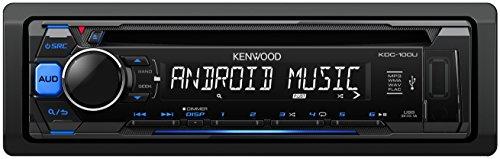 Kenwood-KDC-100UB-Autoradio-USBCD-Receiver-mit-Tastenbeleuchtung-blauschwarz