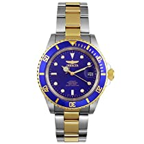 Men s watches special offers Invicta Men s Pro Diver Collection Two Tone Automatic Watch 8928OB from astore.amazon.com