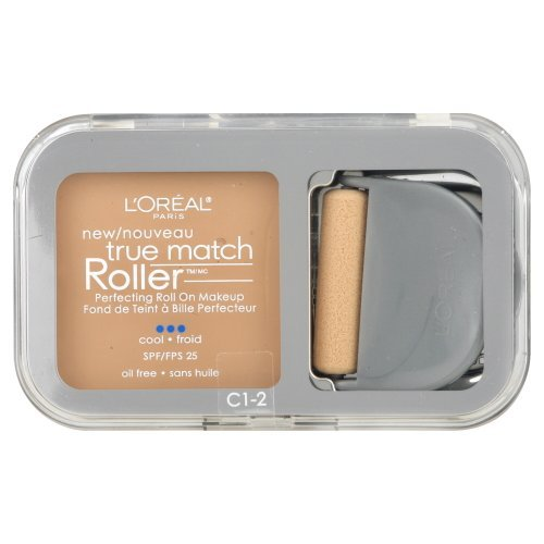 L'Oreal Paris True Match Roller, C1-2 Alabaster/Natural Ivory, 0.30 Ounce