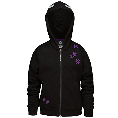 Boy's Minecraft Enderman Zip Up Hoodie