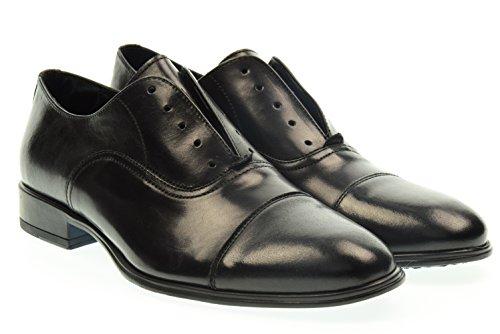 ANTICA CUOIERIA uomo scarpa senza lacci 19765-T-S67 40 Nero