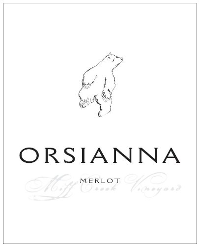 2010 Orsianna Estate Sonoma County Merlot 750Ml