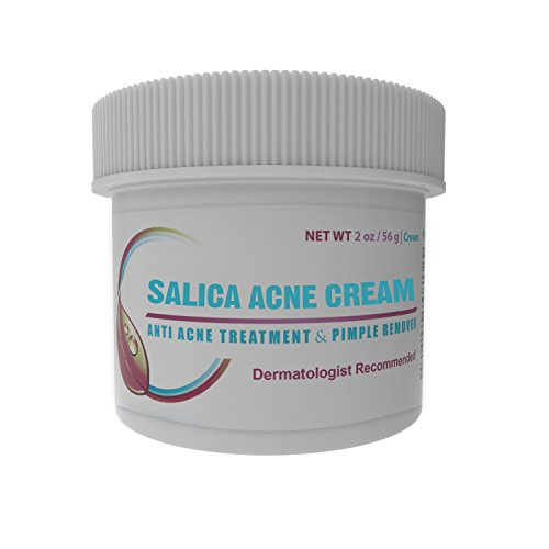 Best Acne Treatment Cream - Topical Anti Acne Medication with Salicylic Acid and Tea Tree Oil. Get Rid of Acne Scars, Pimples, Cystic Acne and Blackheads in 21 Days. 2 oz/60ml (Salicylic Acid Cream compare prices)