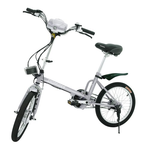 Shoprider E-bike Electric Bike, Silver
