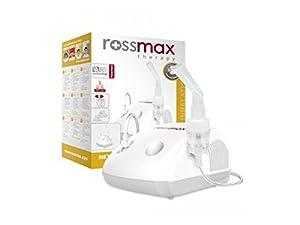 Rossmax NE100 - Nuevo inhalador Aparato para inhalación de medicamentos líquidos con compresor Nebulizador por Rossmax