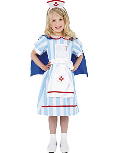 Child Vintage Nurse Halloween Costume