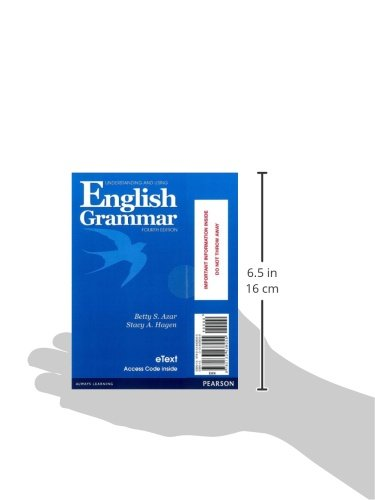 Understanding and Using English Grammar Etext with Audio; Without Answer Key (Access Card)