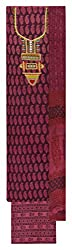 Sanskriti Women's Cotton Unstitched Dress Material (Purple)