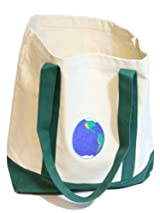 Earth 12 oz. Canvas Boat Tote in Green