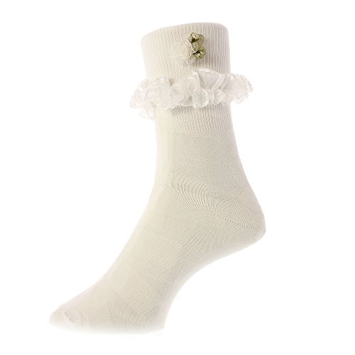 Frilly Lace Bobby Socks for Ladies