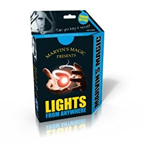 4 X Marvin's Magic Junior Lights from Anywhere Tricks