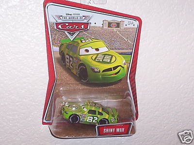 Disney / Pixar CARS Movie 155 Die Cast Car Series 3 World of Cars Shiny Wax by Mattel