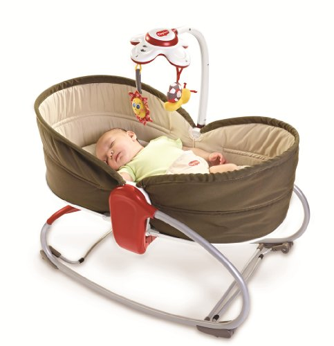 Best Buy! Tiny Love 3 in 1 Rocker Napper, Brown