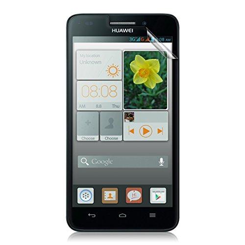 kwmobile Folie matt für Huawei Ascend G620s Displayschutzfolie - Schutzfolie Anti-Fingerabdruck Displayfolie entspiegelt