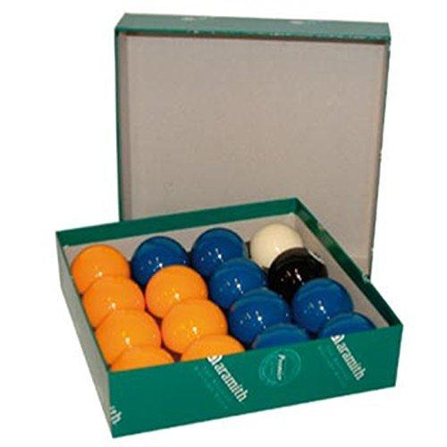 Ball or Pool balls 2 Aramith PREMIER MATCH Pool Blue, Yellow, 50.8 mm, Aramith by Aramith günstig bestellen