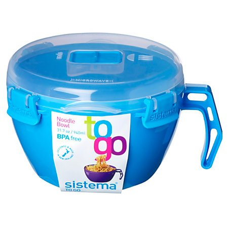 Sistema Noodle Bowl To Go 31.7oz / 940ml, Blue (Microwave To Go Bowl compare prices)