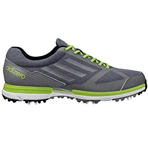 Adidas Men's AdiZero Sport Golf Shoes Lead/Silver/Slime 11