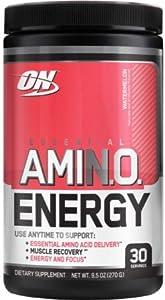 Optimum Nutrition Essential AmiN.O. Energy Watermelon -- 30 Servings