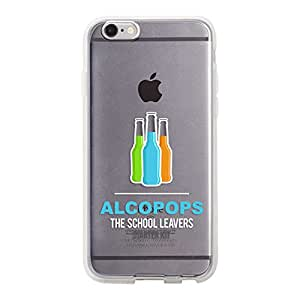 DailyObjects Alcopops Silicone Clear Case For iPhone 6