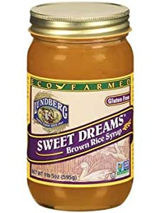 Lundberg Eco-farmed Sweet Dreams Brown Rice Syrup- 21 Oz (12 Pack)