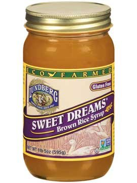 Lundberg Eco-farmed Sweet Dreams Brown Rice Syrup- 21 Oz (12 Pack) by Lundberg