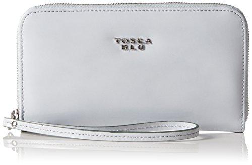 Tosca Blu SEVENTIES Portafoglio, Donna, Grigio (ICE C03), 20x11x3 cm (B x H x T)