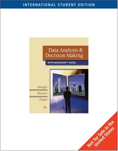 data analysis and decision making with microsoft excel pdf