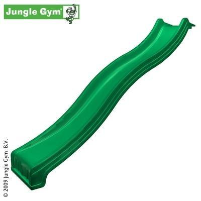 Jungle Gym Rutsche - Wellenrutsche 3,00 m GS/TÜV - Grün