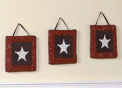 Wild West Cowboy Western Wall Hanging Accessories by JoJo Designs