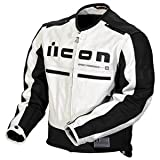 Icon Motorhead Jacket - Medium/White