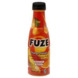 Fuze Orange Mango, 16.9-Ounce Bottles (Pack of 12)