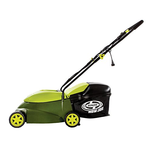 Sun Joe MJ401E Mow Joe 14-Inch 12 Amp Electric Lawn Mower With Grass Bag (Garden Machine compare prices)