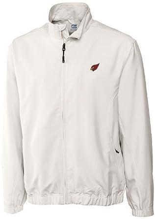 NFL Phoenix Cardinals Mens WindTec Astute Full Zip Windshirt by Cutter & Buck