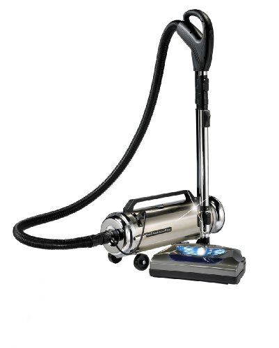 Metropolitan Professionals ADM-4PNHSF 13 Amp 4-Horsepower Canister Vacuum with Quadruple Hepa Filtration and Electric Power Nozzle