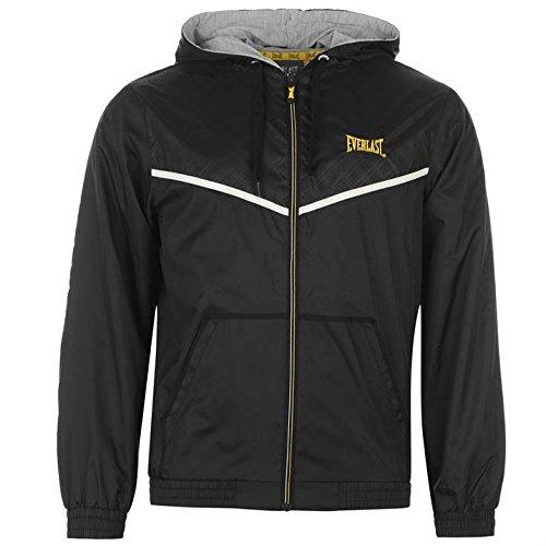 everlast-mens-rain-jacket-lightweight-long-sleeve-full-zip-clothing-black-yellow-xl