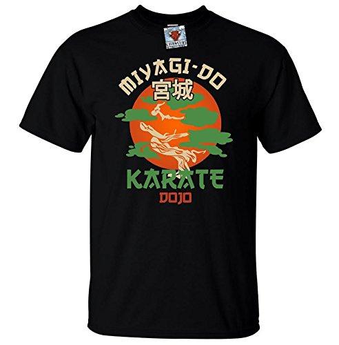 Bullshirt da uomo Miyagi Do maglietta Black Medium