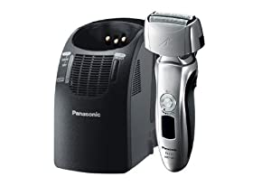 Panasonic Arc3 Electric Razor, Men's 3-Blade Cordless with Wet/Dry Convenience, Automatic Premium Clean & Charge Station Included, ES-LT71-S