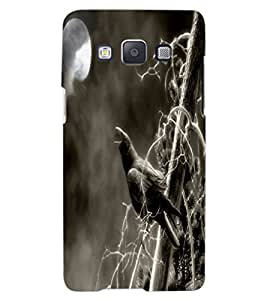 ColourCraft Scary Night Design Back Case Cover for SAMSUNG GALAXY A8
