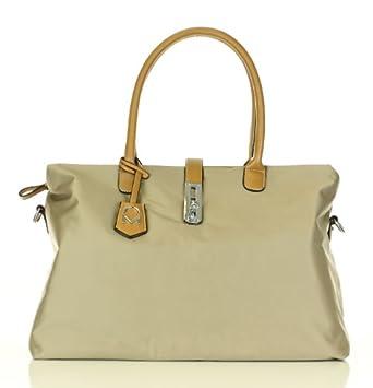 Noble Mount Oversized 'Arizzo' Handbag - Khaki