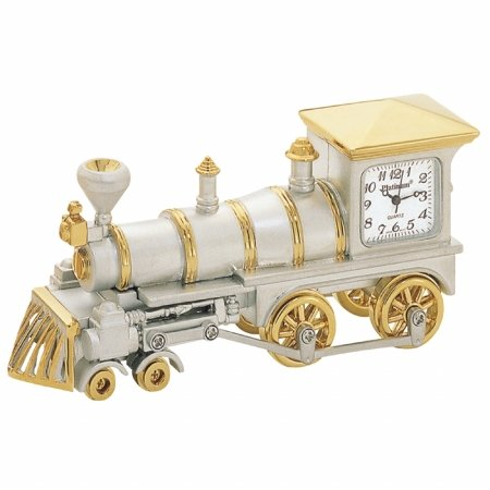 Steam Train Desk Clock