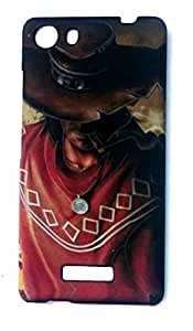 Koolbug Touch Feel Night Glow Hard Back Case Cover For Micromax Unite 3 Q372