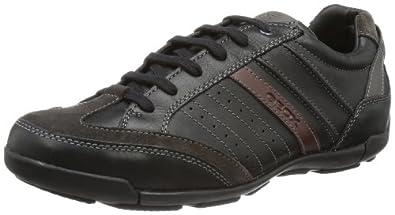 Geox U CART P U34S4P00043C9999, Herren Sneaker, Schwarz (BLACK C9999), EU 39