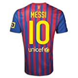 #10 Messi Barcelona Home 2011-12 Kid Soccer Jersey & Matching Short Set - For Youth Age: 8-10 Years Old